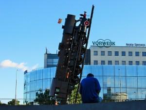 Pociąg do nieba – oficjalne otwarcie rzeźby miejskiej