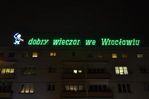 Dobry wieczór we Wrocławiu i już