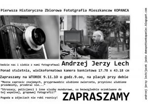 Fotoreporter z Kopańca pilnie poszukiwany