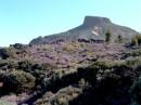 Masyw skalny od strony południowej La Fortaleza