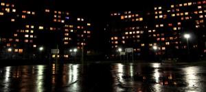 Osiedle nocą