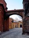 10_0050 Brama Kluszczana (Kluskowa) łączy Dom kapituły z kościołem św.Idziego
